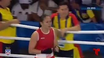 ¡Oro en boxeo femenino!