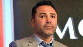 De La Hoya habría sido extorsionado por video sexual