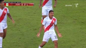 """""""Oreja"""" Flores define el partido ante Bolivia con golazo"""
