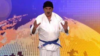 """Pedro Fosas Nasales siempre karateca nunca """"inkarateca"""""""