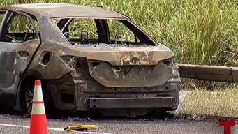 Persona muere calcinada dentro de vehículo en el PR-52