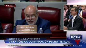 Pierluisi responde preguntas de Johnny Méndez