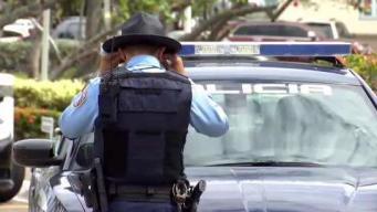 Policías marcharon en reclamo de un retiro digno