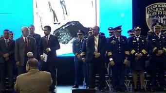 Premian la labor de policías en la isla