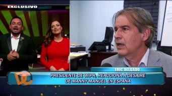 Presidente de WIPR asegura que Manny Manuel siempre será recibido en el canal