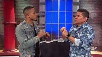 """Raymond se enfrenta a Félix """"El Diamante"""" Verdejo"""