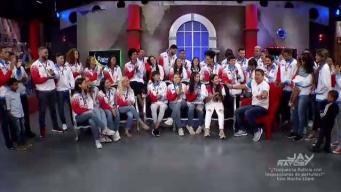 Recibimiento de nuestros medallistas a RYSA