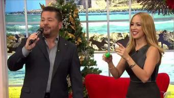 Ricardo Torres se bota cantando con Alexandra