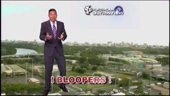 Alexandra muestra un blooper de Roberto Cortés