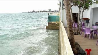 Se agrava erosión costera que afecta a vecinos de Ocean Park