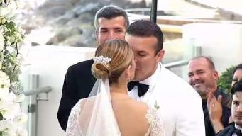 Se casan Fernando Villamil y Sency Mellado