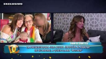 Sonya Cortés conserva las cenizas de su hijo