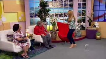 Susa y Epifanio le cuentan a Alexandra de su aniversario