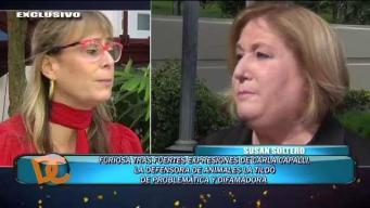Susan Soltero furiosa tras fuertes expresiones de Carla Capalli