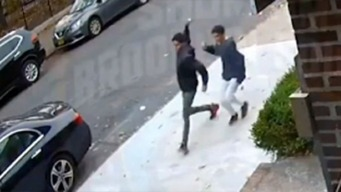 Armados con huevos, atacan al azar en Brooklyn