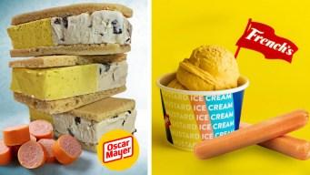 Guerra de los helados raros: ¿prefieres mostaza o hot dog?