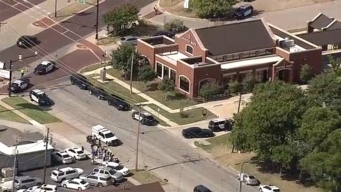 Tiroteo en un banco de Fort Worth, Texas
