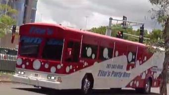 De fiesta en un Party Bus