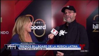 Tony Mojena: celebra 20 años de los Premios Billboard de la Música Latina