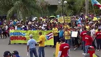 Uniones denuncian que el gobierno inició campaña en su contra