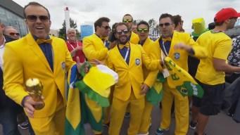 Brasileños y costarricenses invaden San Petersburgo