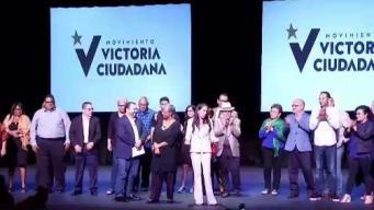 """Presentan nuevo partido """"Movimiento Victoria Ciudadana"""""""
