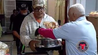 Voluntarios lo dan todo para que miles no pasen hambre