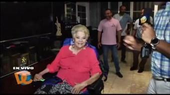Sandra Zaiter, esperanzada tras accidente