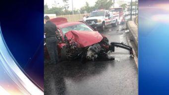 Mujer fallece en accidente frente a colegio en Caguas