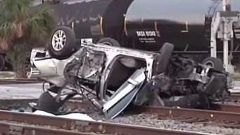 Dos jóvenes muertos y 5 heridos tras accidente vehicular