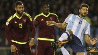 Venezuela y Argentina jugarán amistoso en España
