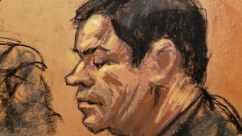 """Juicio contra """"El Chapo"""": retiran moción por el celular"""