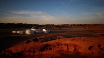 Cómo es la increíble base similar al Planeta Rojo