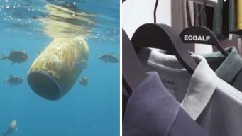 Crean ropa con basura del mar para cuidar el planeta