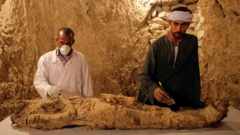 Descubren tumbas, momia, y tesoros del antiguo Egipto