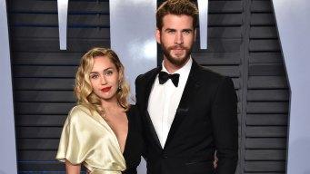 Miley Cyrus y Liam Hemsworth tuvieron ¿Boda secreta?