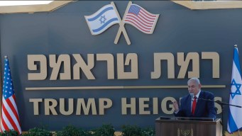 Altos de Trump, nueva colonia judía en territorio ocupado