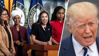"""""""Deben disculparse"""": Trump arremete contra congresistas"""
