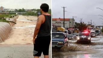 Ivo se debilita pero siguen las fuertes lluvias en México
