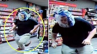 Insólito: intenta robar tienda con máscara transparente
