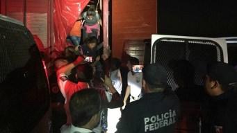 Rescatan a 191 migrantes en condiciones infrahumanas