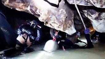 Fallece rescatista de niños atrapados en Tailandia