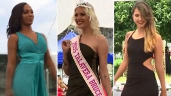 En video: presas compiten en concurso de belleza