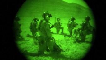 En video: increíble ataque nocturno a escondite de ISIS