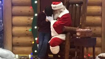 Viral: niño le pide a Santa por la salud de su papá