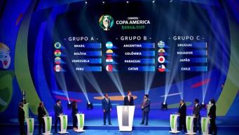 Copa América: ya están definidos los grupos