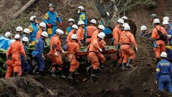 Japón: 31 muertos por terremoto; buscan sobrevivientes