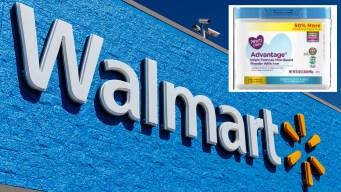 Retiran leche de bebé exclusiva de Walmart