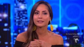Carmen Villalobos se emociona al hablar de su novio