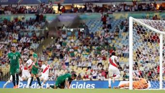 Bolivia se pierde el empate ante Perú